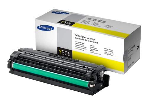 Samsung CLT-Y506S/ELS Original Toner (Kompatibel mit: CLP-680ND/680DW/CLX-6260 Series) gelb