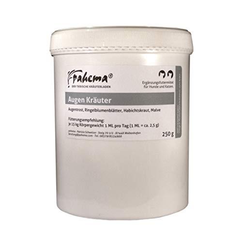 pahema Augen Kräuter - 250 g - für Hunde und Katzen - 100% Natur