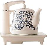 OH Tea Coffee Maker Caldera para Agua Caliente Cerámica Hervidor de Té Eléctrico Hervir la Protección Contra Secas, Cabrito de Café Amp; Té, Apagado Automático Apagado Kettle 1.2 L