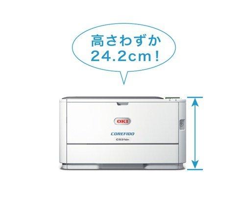『OKI COREFIDO2 C312dn A4 カラー LEDプリンタ ( コンパクト / 自動両面印刷 / 5年無償保証 ) C312DN』の3枚目の画像