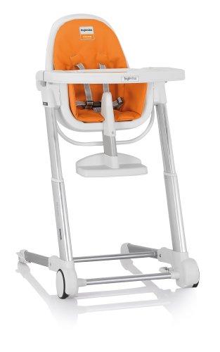 Inglesina Zuma Highchair, White/Orange by Inglesina