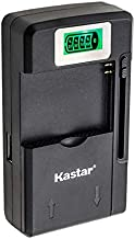 Kastar Intelligent Mini Travel Charger (with High Speed Portable USB Charge Function) for PDA Camera Li-ion Battery Digital Cameras Mp3 Mp4 Players Hand Held Gaming Devices PDAs, Z Cam E1 Camera