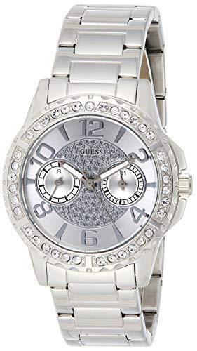 Guess Orologio Cronografo Quarzo Donna con Cinturino in Acciaio Inox W0705L1