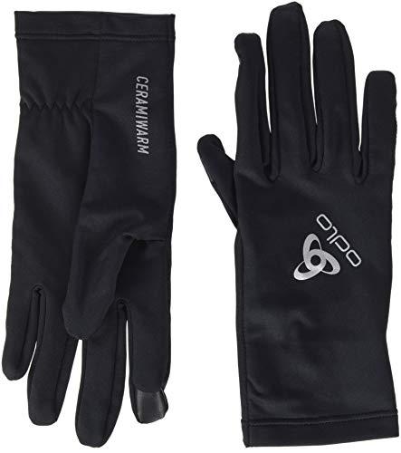 Odlo Gloves CERAMIWARM Light Handschuh, Black, XL