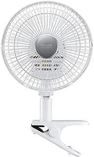 東芝 18cm・3枚羽根 クリップ扇風機(壁掛取付金具付)(ホワイト) ホワイト TLF-18CL12(W)