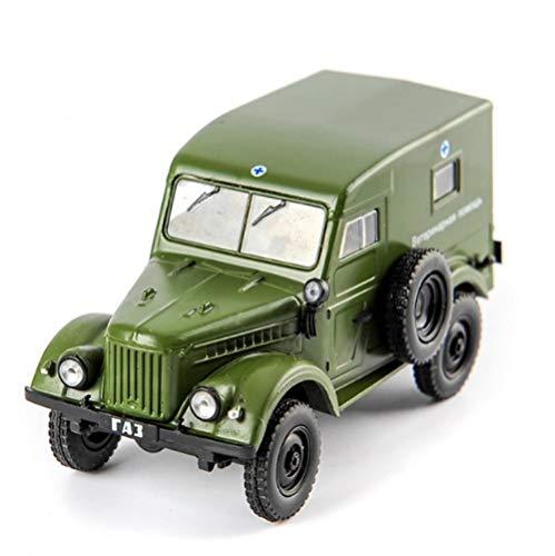 THKZH 1/43 Russland GAZ 69 GAZMilitärfahrzeug Nostalgische Klassische Sowjetische Autolegierung Modell Druckgussautos, Oldtimer-Modellautos, Erwachsenenautomodelle, Sammlungsmodellautos