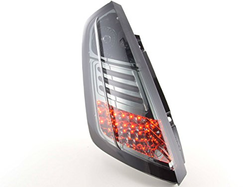 FK Automotive FKRLXLFI203 Fanali Posteriori a LED Set Nero