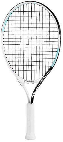 Tecnifibre T- Rebound 21 (Entre 5 y 6 años) Raqueta de Tenis Chica, Blanco, Talla Única
