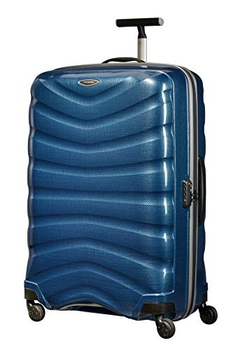 Samsonite Firelite - Spinner XL Suitcase, 80 cm, 124 Litre, Blue (Dark Blue)