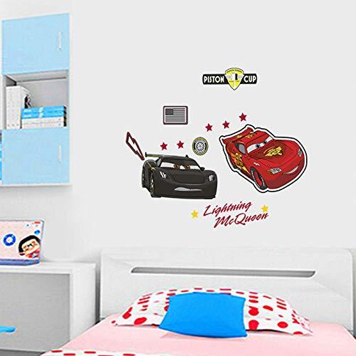 Terilizi Super Autos Pvc muursticker voor thuis kinderkamer behang afneembare muurtattoos cartoon auto muurdecoratie voor kleuterschool