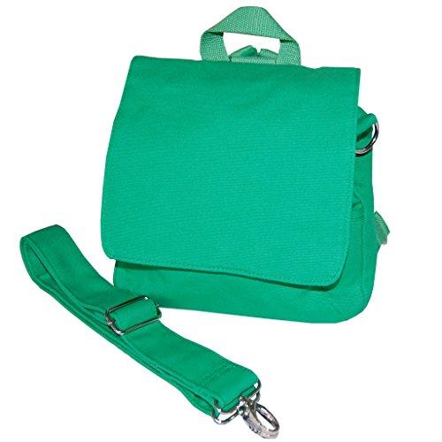 Kindergartentasche ROHLING Rucksack/Tasche zum Selbstgestalten in grün Kita-Tasche S zum Pimpen