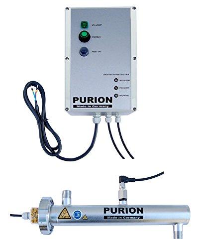 PURION 500 12V OPD UVC-installatie voor campers met sensoren waterzuiverer voor drinkwater