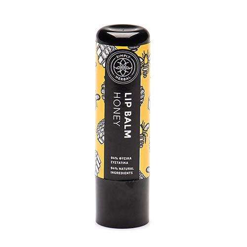 Simply Herbal Lip Balm Honey with Herbal Oil and Butter blend (5ml)