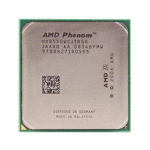 AMD Phenom 8550 2.2GHz 1.5MB L2 Prozessor - Prozessoren (AMD Phenom II X3, 2,2 GHz, Buchse AM2+, 65 nm, 64-Bit, 3600 MHz)