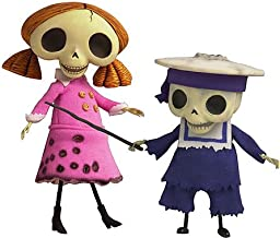 Corpse Bride Doll Collection Skeleton Girl and Small Child skeleton set Y-243