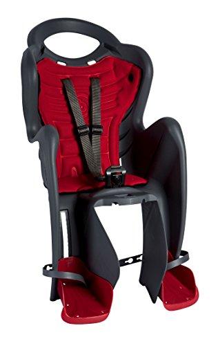 Bellelli Unisex Señor Fox Accesorio de Montaje Asiento Infantil, Color Negro/Rojo