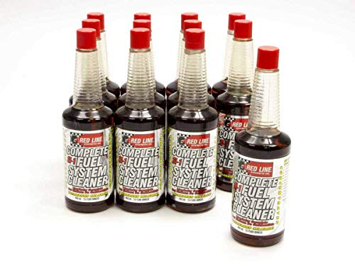 Red Line (60103-12PK) Complete SI-1 Fuel System Cleaner - Gas and Injector Additive Treatment (12 PK Case)