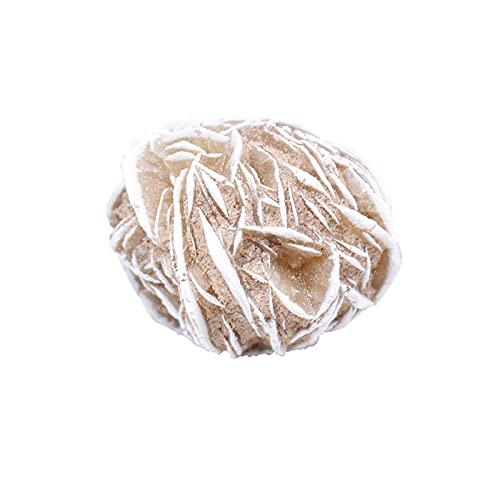 YSJJDRT Cristallo Naturale Grezzo Pure Natural Marocchan Desert Desert Rose Pietra Mineral Specimen Rough Campione Ornamentale Collezione Ornamentale Decorazione della casa Quarzo