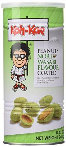 Koh-Kae Erdnüsse mit Nori-Wasabi Geschmack, 240 g