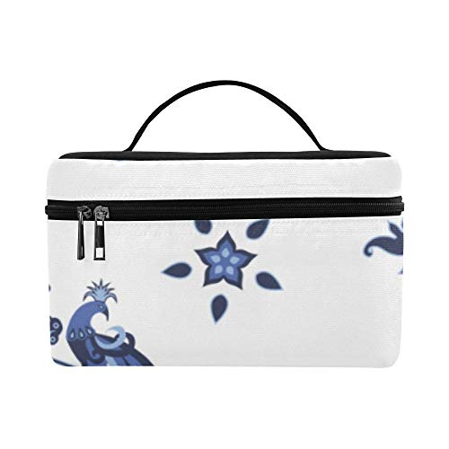 Estilo de pintura de porcelana china Placa de porcelana Patrón Fiambrera Tote Bag Lunch Holder Aislante Lunch Cooler Bag Para mujeres/hombres/picnic/canotaje/playa/pesca/escuela/trabajo