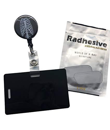 Xray Tech Bundle, Radhesive, Retractable Badge Reel, Marker Holder, Skeleton, Torso, Chest