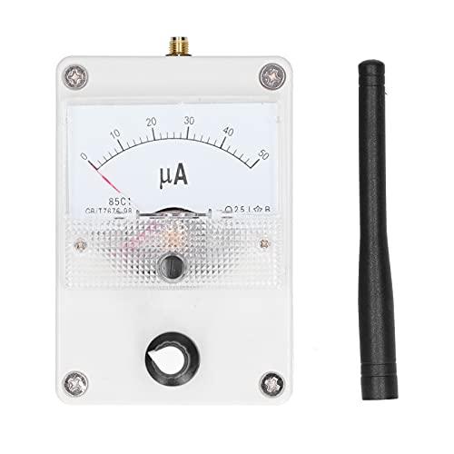Medidor de nivel de señal RF GAESHOW 100K-1000MHz Indicador de intensidad de campo para radiación de antena de radio