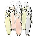 Küchenutensilien Motivbackformen Backformsets Zarte Schwesternschaft Dreifarbige Brosche Schwester Brosche Vierfarbige Brosche Handgefertigt Schöne Weihnachtsgeschenk Neujahrsgeschenk, 6 Schwester