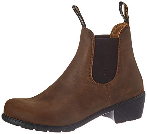 Blundstone Women's Heeled Boot Antique Brown 9.5