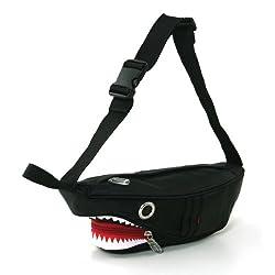 Premium Nylon Shark Fanny Pack with Gill Pockets