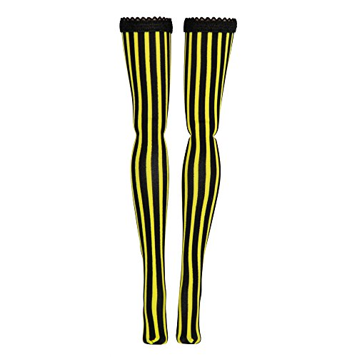 Micro Stripe Doll Stockings for Ever After and Monster High dolls - all sizes