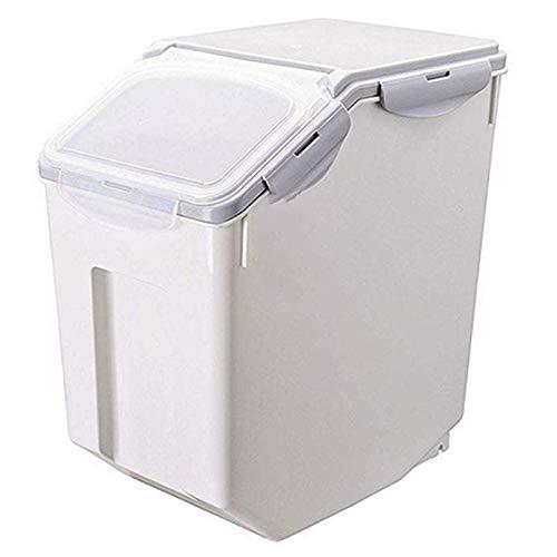 Facibom 1 Packung Feuchtigkeitsbest?Ndige Versiegelte Reisbox Reisvorratsbeh?Lter mit R?Dern Dichtungsverschlussdeckel PP