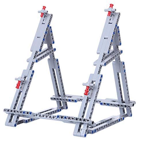 Lommer Support Stand Verticale Présentoir Compatible avec Lego Faucon Millenium Star Wars 75105 75212 7965 - Pas modèle Lego