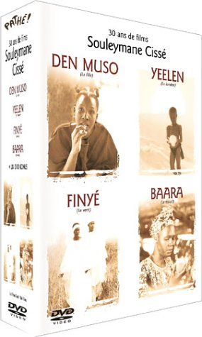 Souleymane Cisse 4 tacar DVD: Finye / Baara / Den muso / Yeelen