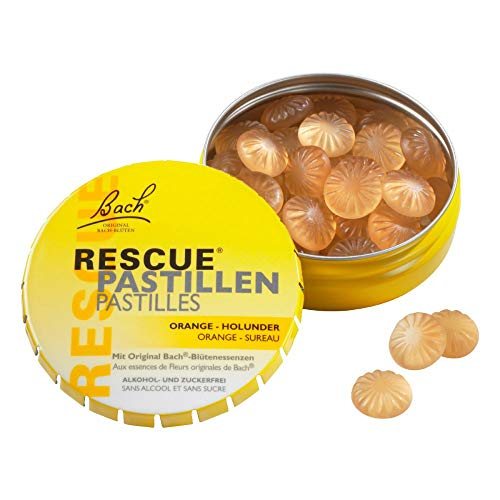 Bach Original Rescue Pastilles orange-elderflower 50 G
