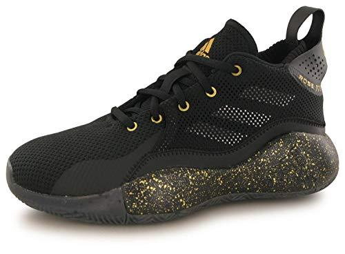 adidas Unisex-Erwachsene D Rose 773 2020 J Sneaker, Negbás/Dormet/Ftwbla, 39 1/3 EU