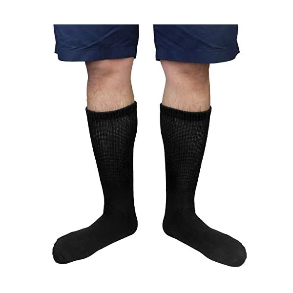 buy  Physicians Approved Diabetic Socks Crew Unisex 3, ... Diabetes Care