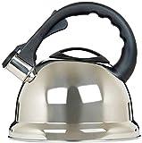 Prima elegante superior de la estufa Estados 3,5 litros de acero inoxidable mate...
