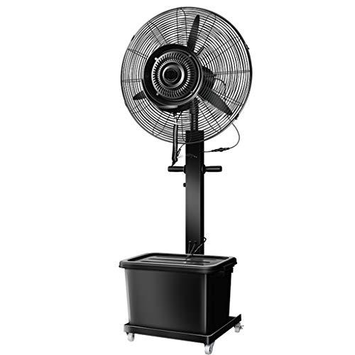 Standventilatoren Standventilator mit Sockel, 3-fach, einstellbare Höhe, industrieller Lüfter, oszillierender elektrischer Standventilator mit 80 Grad, perfekt für Zuhause, Büro, Schlafzimmer