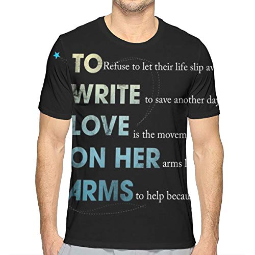 to Write Love On Her Arms Men