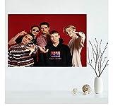 ZOEOPR Poster Backstreet Boys Poster Und Drucke Wandkunst