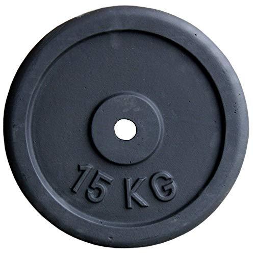 Discos de pesas (hierro fundido, 30 mm, 5, 10, 15 y 20 kg, 2 unidades de 10 kg)