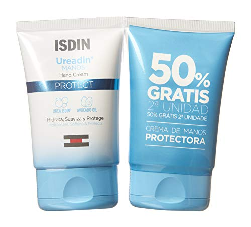 Ureadin Isdin - Crema de Manos, Pack 2 Unidades 50 + 50 Mililitros, 100 Mililitros