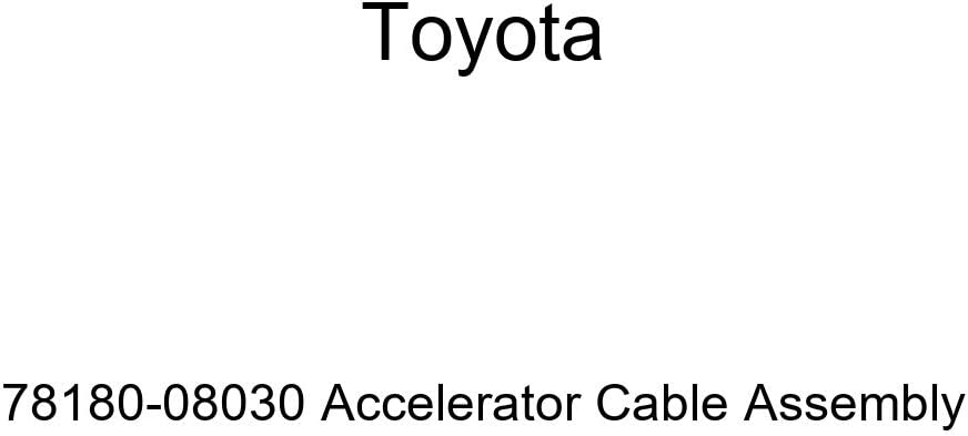 Toyota 78180-08030 Accelerator Cable Sale Ranking TOP9 special price Assembly