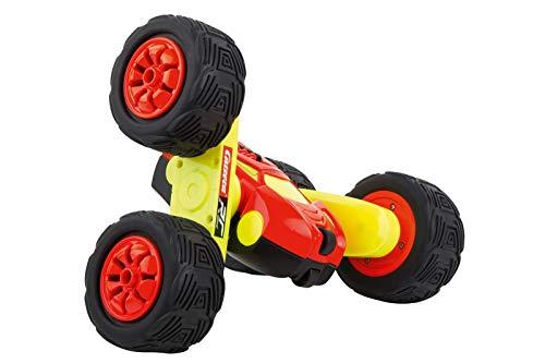 Carrera RC 2,4GHz Turnator - Glow in The Dark │ Ferngesteuertes Auto für drinnen & draußen │ Elektro-Mini-Car zum Mitnehmen inkl. Fernbedienung │ Spielzeug für Kinder ab 6 Jahren & Erwachsene