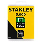 STANLEY 1-TRA708-5T - Grapas Tipo G 12 mm (5000 Unidades)