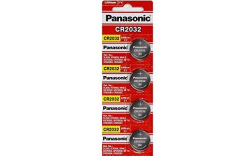Panasonic CR2032 Batterie Lithium-Knopfzelle 3V 4er-Packung