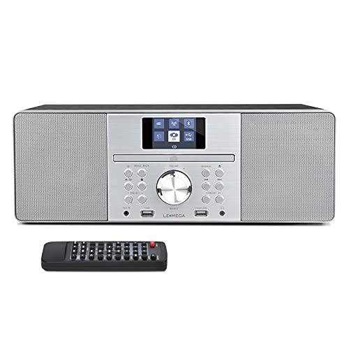 LEMEGA MSY1P DAB Radio with CD Player (Black)