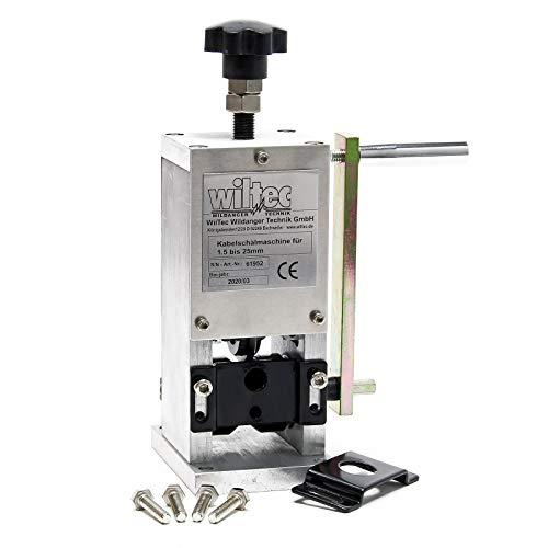 Máquina peladora de cable 1.5 a 25mm Dispositivo pelacables manual Extraer cobre...