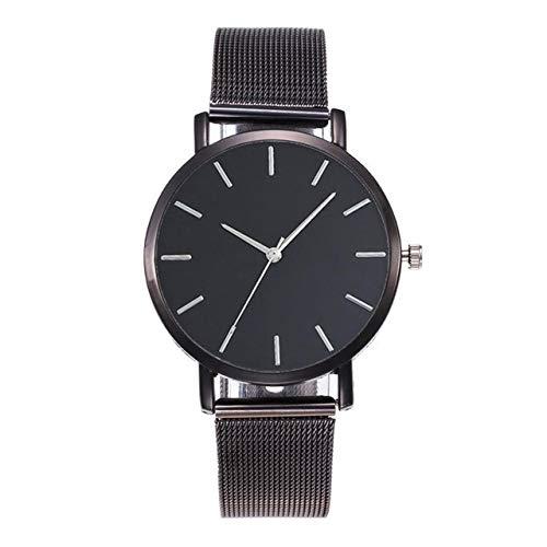 Women Wrist Watch Designer Simple Elegante Elegante Reloj Delgado Reloj de Lujo para Mujeres para Mujeres niñas (Negro) (Color : Black)