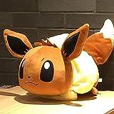 Peluche 50 Cm Pokemon Anime Elf Eevee Felpa Almohada Pikachu Squirtle Charmander Serie De Juguetes De Relleno Regalo De Cumpleaños para Niños